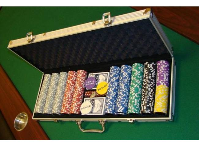 Sada Poker žetonů 500 ks Design Ultimate