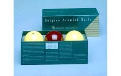 Karambolové koule Super Aramith Traditional 61,5mm (3ks)