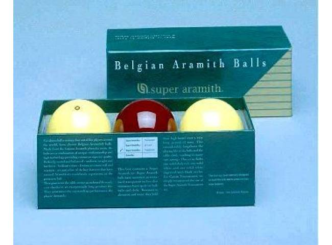 Karambolové koule Super Aramith