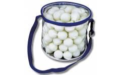 Sada 100 ks ping-pongových míčku + taška